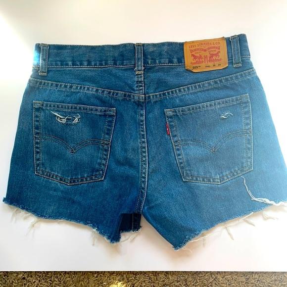 Levi's denim shorts!!!